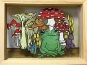 長崎で親子切り絵教室 切り絵作家・山下南風作品展も同時開催