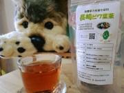 長崎の元警察官が自家製釜で「手作りビワ葉茶」 10月からパッケージを一新