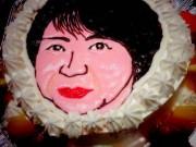 長崎・富士見町に「人面ケーキ」 「でき上がりを見るのが怖い」と話題に