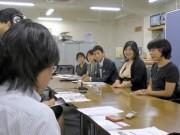 「長崎市民メディアの会」が県庁記者クラブで会見 NCMが密着取材