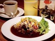長崎のカフェに「国産和牛すじ肉カレーランチ」 一日10食限定で