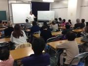 長崎在住のアシ船航海士・石川仁さんが講演会