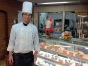 長崎の老舗菓子店に「トナカイのクリスマスケーキ」