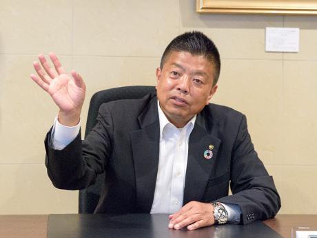「九州教具株式会社」社長の船橋さん
