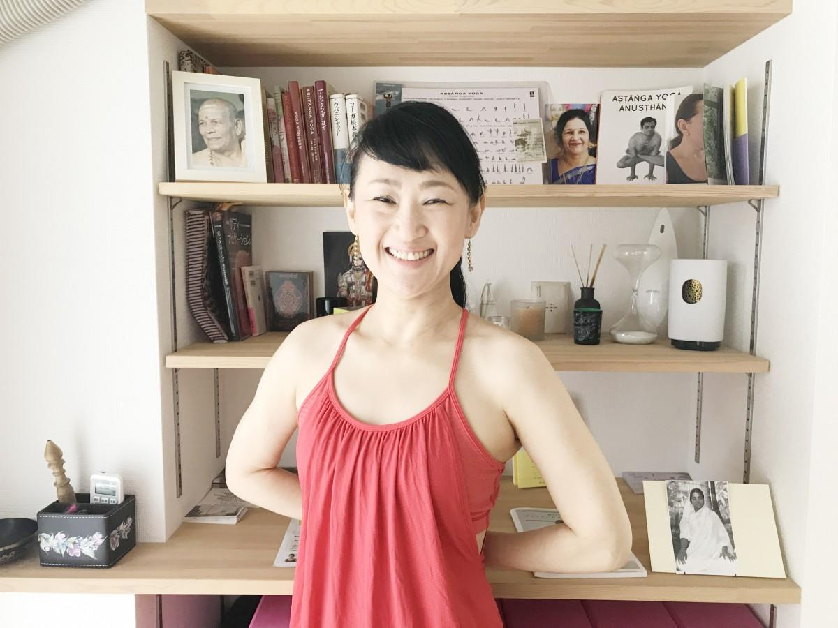 「LOTUS BLOOM YOGA studio」代表の岡西康子さん