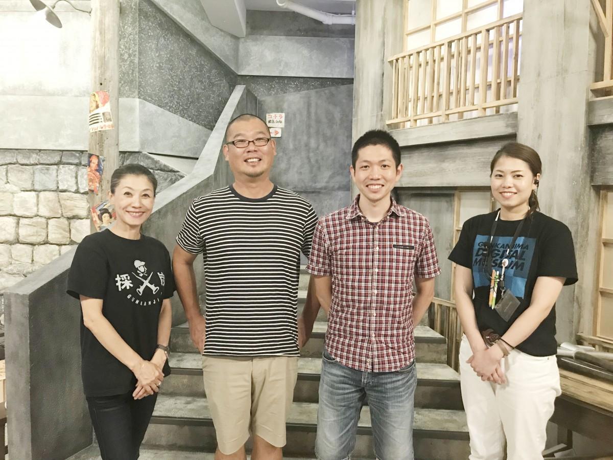 (左から)久遠裕子さん、川口肇さん、永澤文昭さん、桑岡文さん