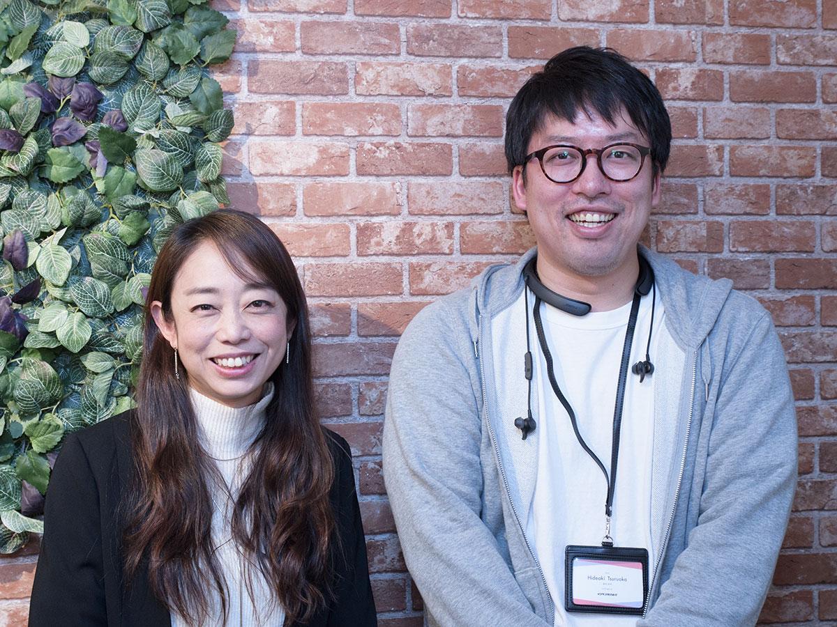 「SEAT」を展開するイジゲン鶴岡英明社長(右)とD.M.PLABOの柿田紀子社長
