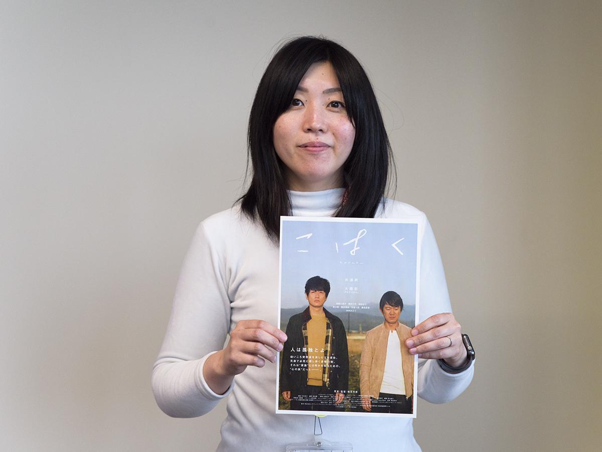 参加を呼び掛ける長崎県フィルムコミッションの横山さん