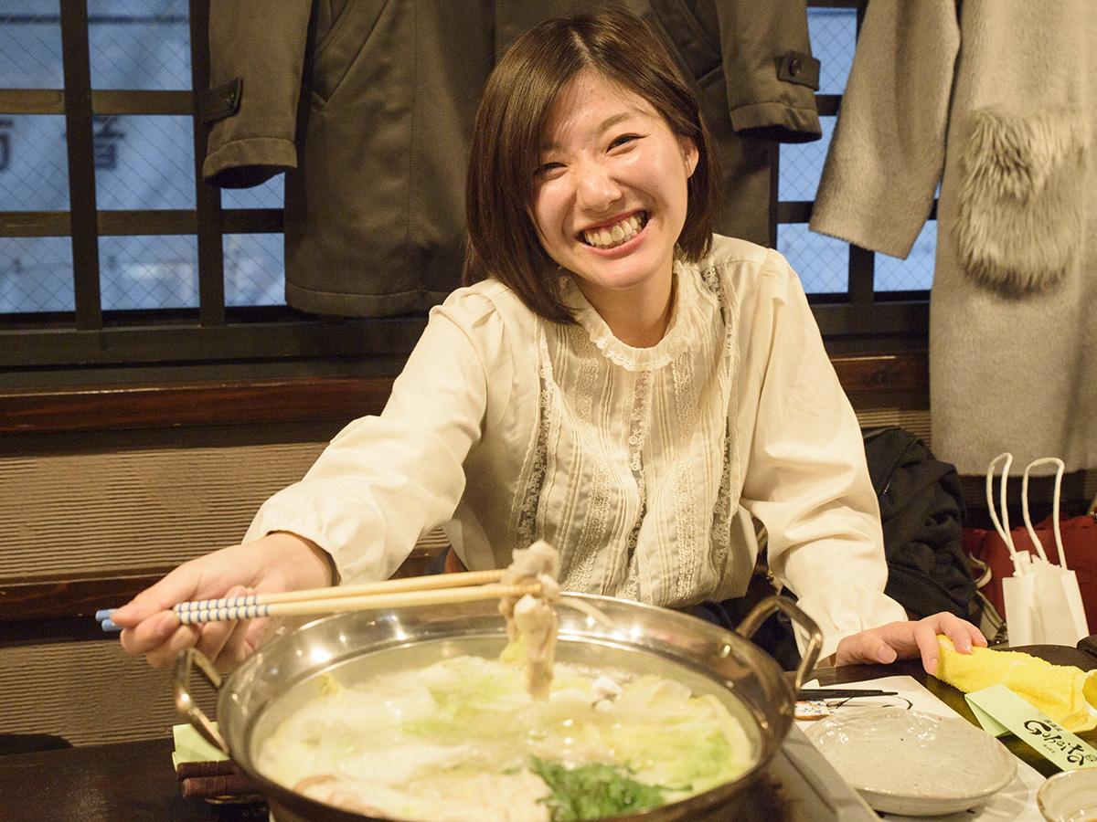 戸石産とらふぐが贅沢に盛られたふぐ鍋