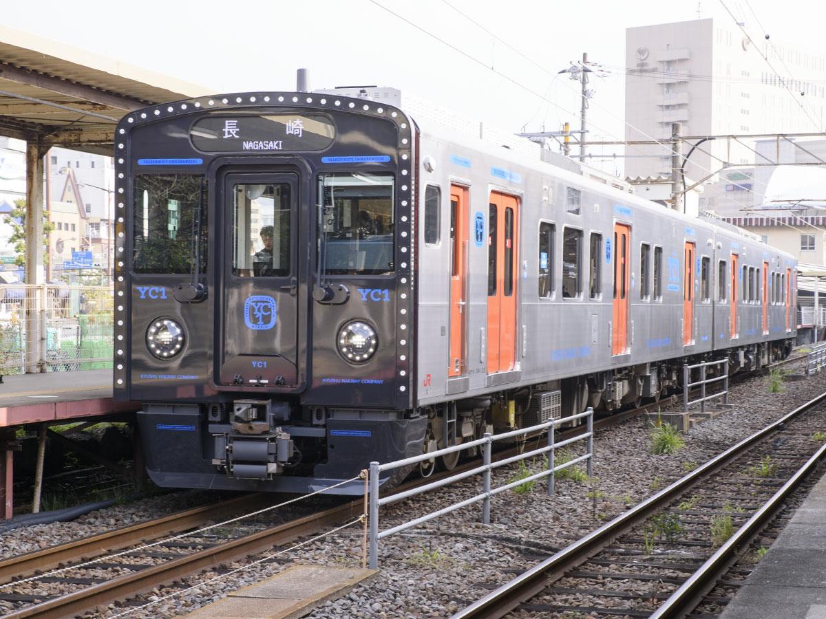 新型車両「YC1系」