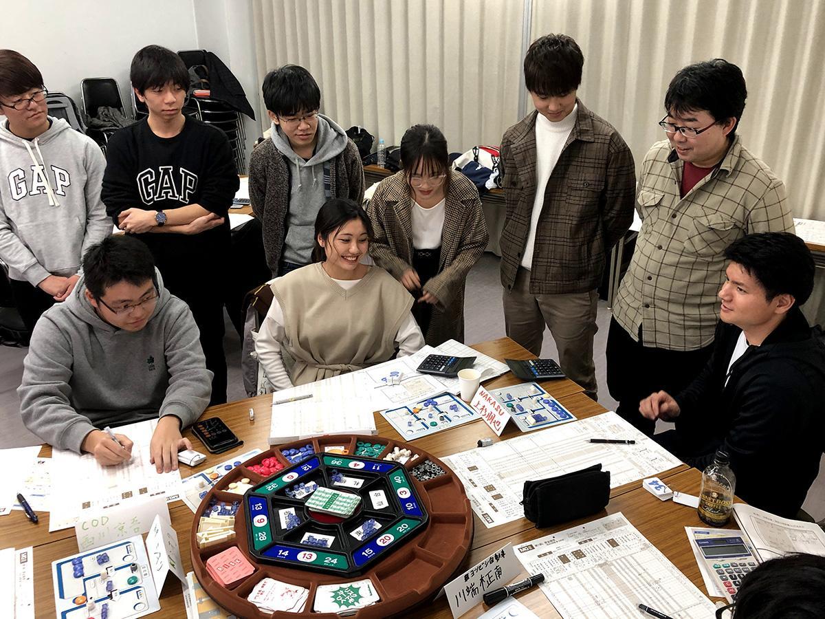 マネジメントゲーム体験会の参加者