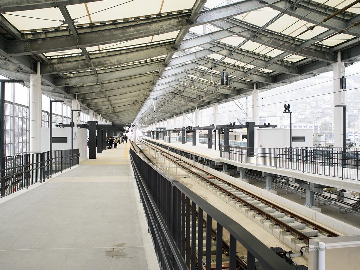 3月28日に開業した新・長崎駅