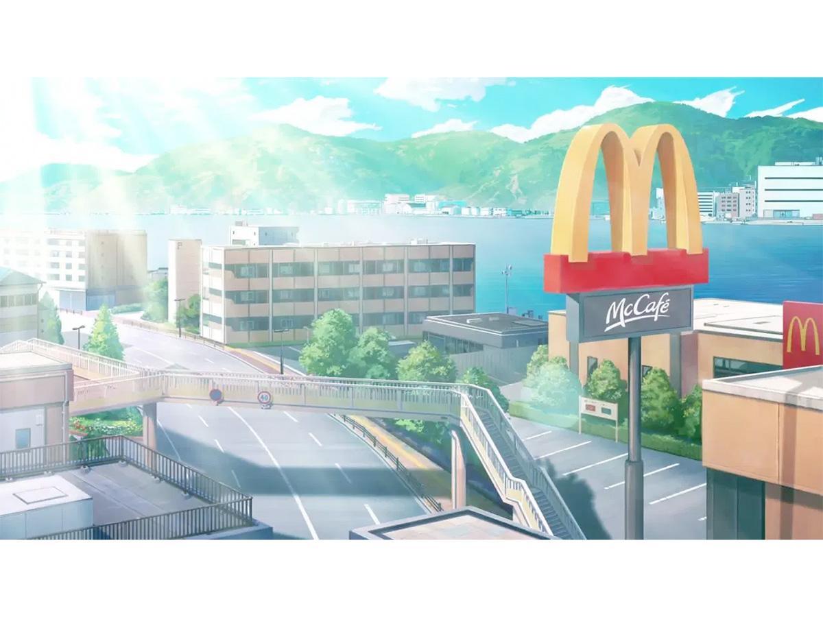 マックシェイク新CMの冒頭シーン(画像提供=日本マクドナルド)