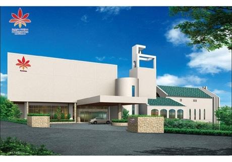 沖縄ワタベウェディングが初の総合結婚式場を9月にオープン(写真=概観イメージ)