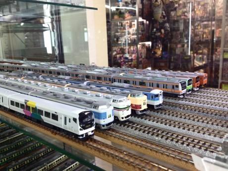 JR中央線走行の歴代車両を一挙展示
