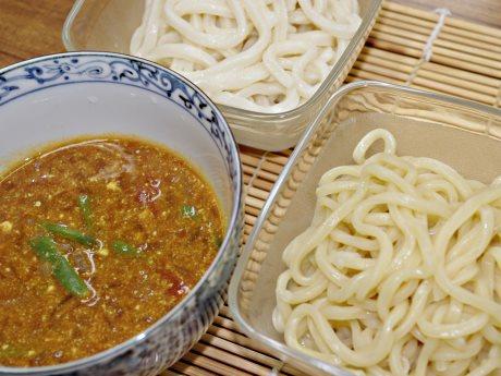 メニュー化が進む「中野あい盛りつけ麺(仮称)」