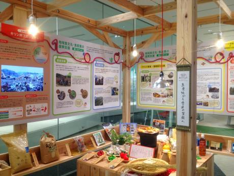 ココニワに誕生した「復興応援キリン絆プロジェクト」ブース