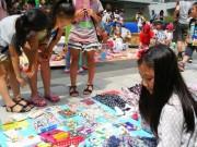 中野で「キッズフリマ&ショップ」-子どもたちが青空の下で仕事体験
