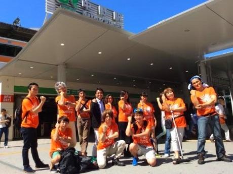 中野駅周辺を自主的に掃除して回る「おせっかい」な人たち