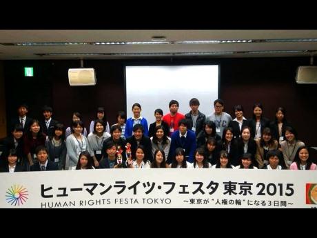 10月10日に東京国際フォーラムで開催された「多文化共生プレゼンコンテスト」参加者ら