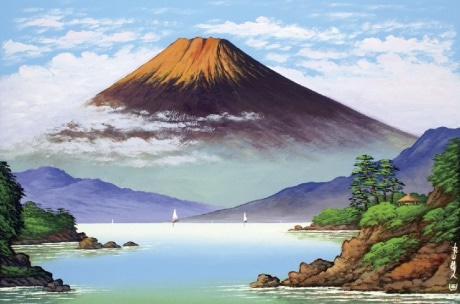 幻の銭湯画「丸山赤富士」