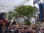 「中野ランフェス」開催 大久保佳代子さんが餅つき、トリは中村あゆみさんのライブ