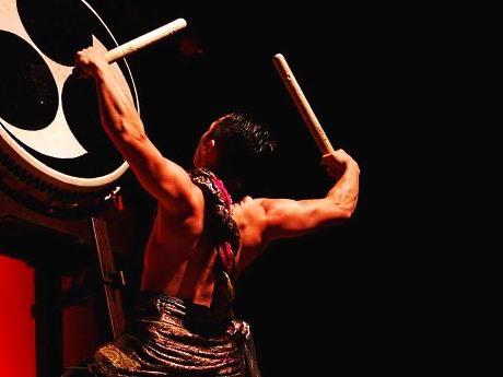 和太鼓奏者の鷹-TAKA-さん