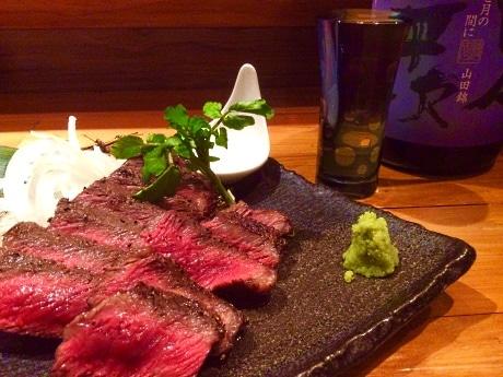 店主お薦め「米沢直送 国産黒毛和牛ステーキ」