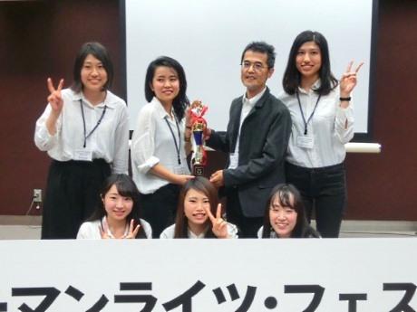 昨年グランプリを獲得した明治大学国際日本学部山脇啓造ゼミ