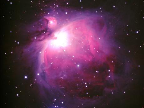 星が生まれる場所のひとつ「オリオン座大星雲」