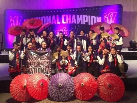 昨年アメリカのダンス大会で優勝した宝仙学園高等学校ダンス部