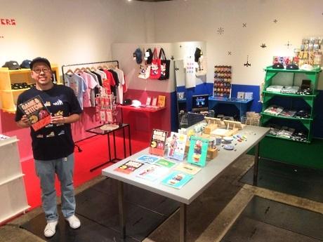 中野で「トーキョーピクセル」期間限定店 サンリオやレトロゲームのコラボ商品も