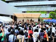 区役所前で「中野フレッシュロックフェス」 高校生バンドから若者全般に規模拡大へ