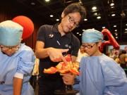 中野で子ども向け医科学体験イベント キッズドクターとして人体の仕組み学ぶ