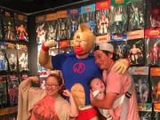 中野ブロードウェイで「不滅の超人魂」展 「キン肉マン」ソフビ200体がお出迎え