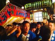 旧新井村の鎮守、新井天神北野神社で例大祭 旧新井村内5町会のみこしも運行