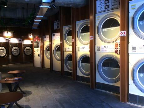 「TOSEI Laundry」内観