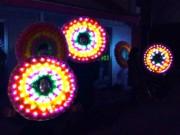 中野・川島商店街で「東京行灯祭」 ご当地ヒーローショーや人間電飾花輪隊も