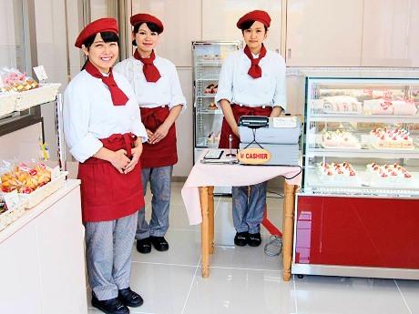 織田製菓専門学校の生徒が作ったスイーツなどを販売する「パティスリー・オダ」(11日のみ)