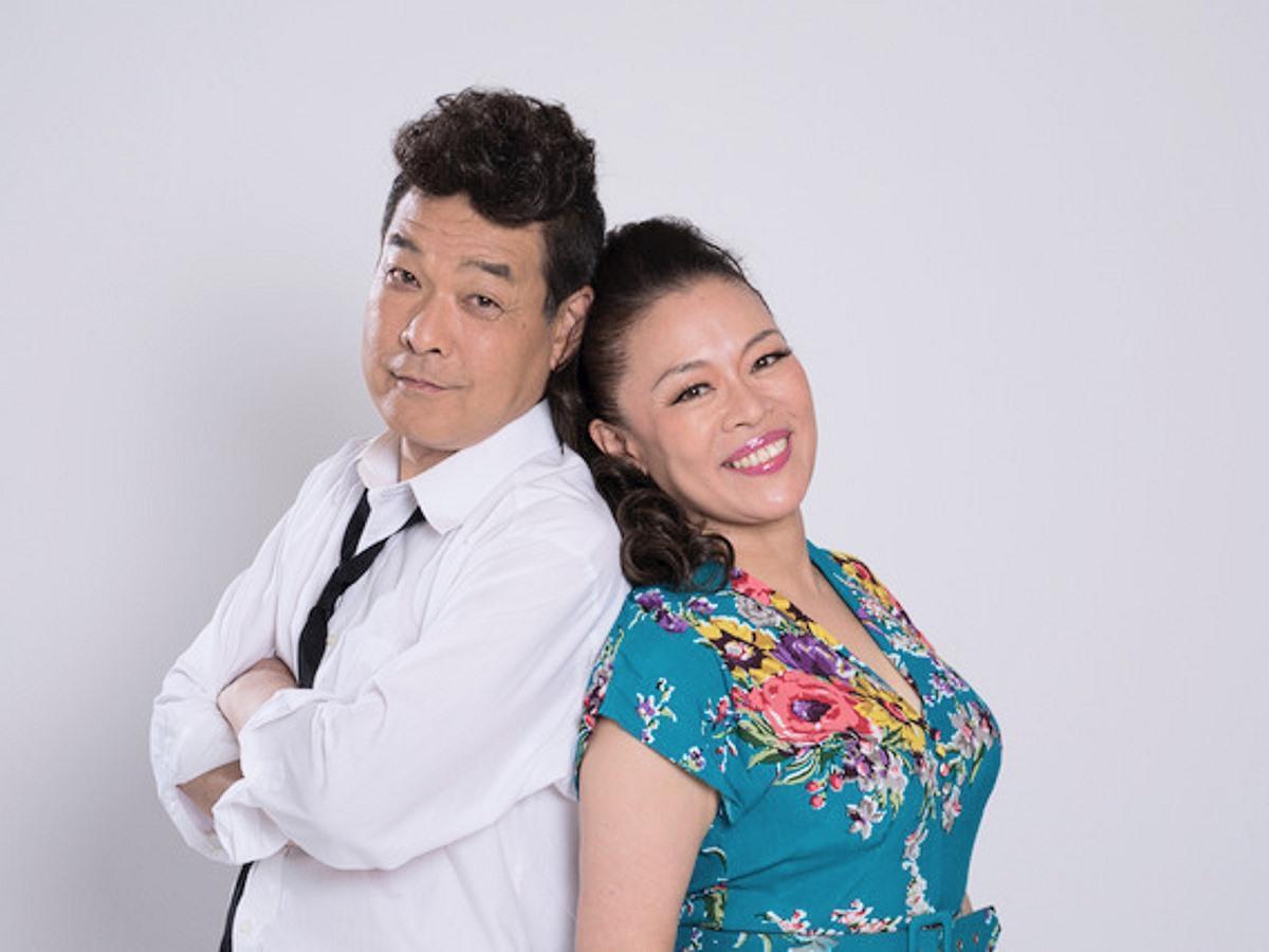 佐藤正宏さん(左)と柴田理恵さん(右)