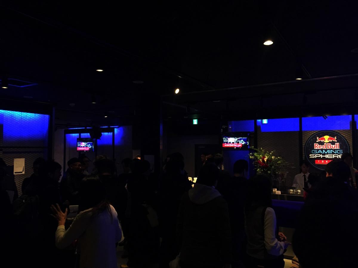 ゲーミングスペース「Red Bull Gaming Sphere Tokyo」内観