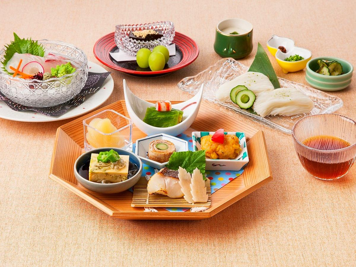 日本料理「なかの」の「中野の森づくり御膳」
