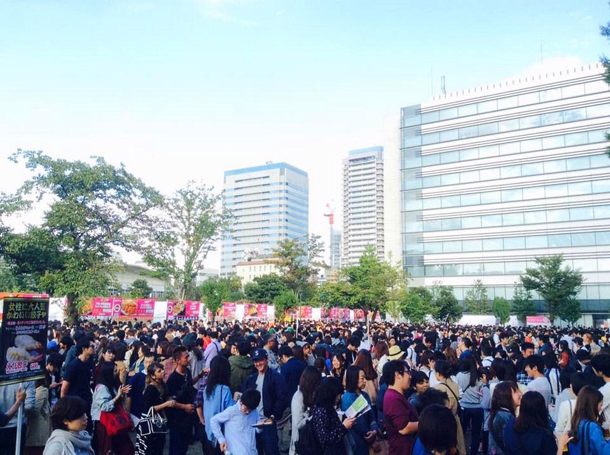 中野四季の森公園での初開催時の様子(2016年)