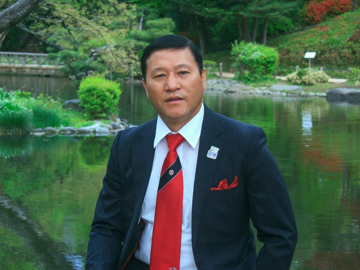 日本ネパール協会のゴウチャン サラドゥ クマル理事