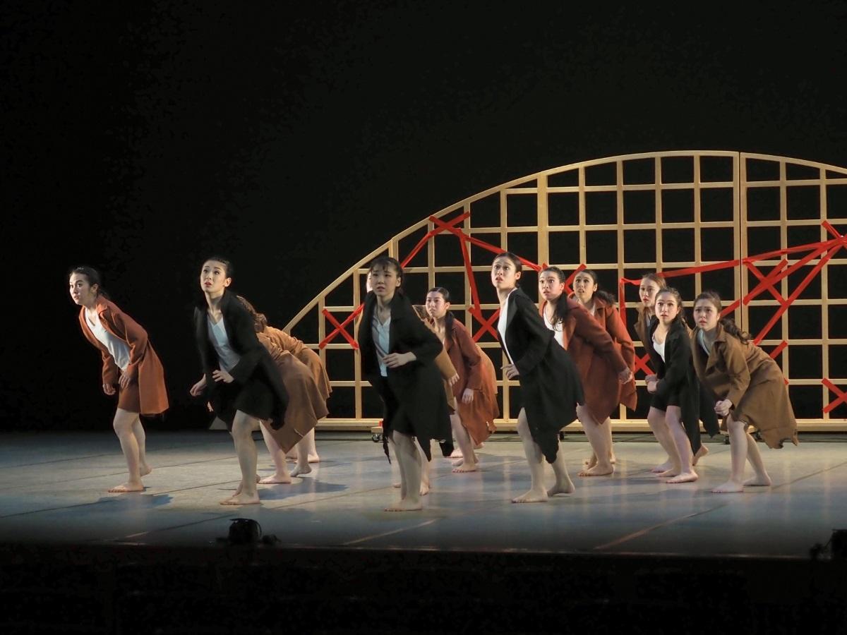 第45回お茶の水女子大学創作舞踊公演の様子 ©山口晴久さん