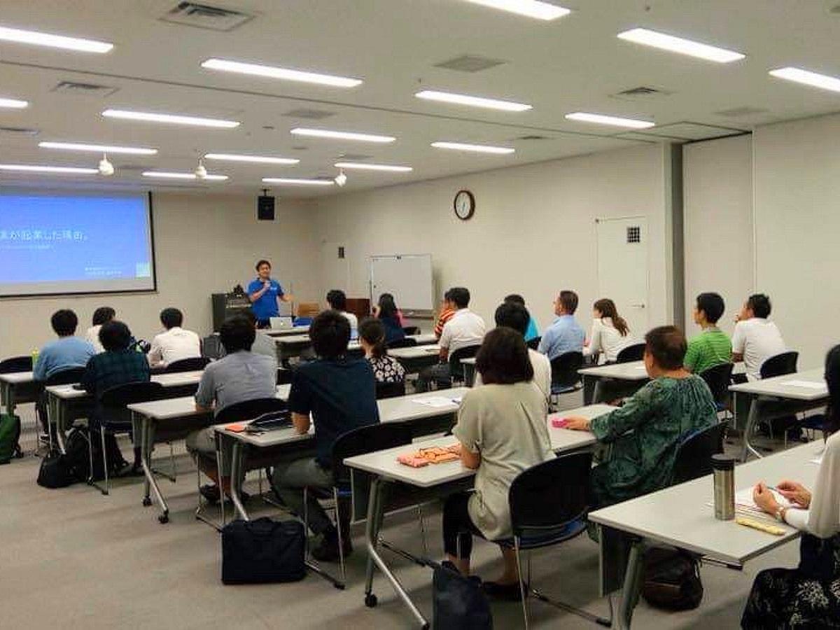 星野さんの「起業家セミナー」過去開催時の様子