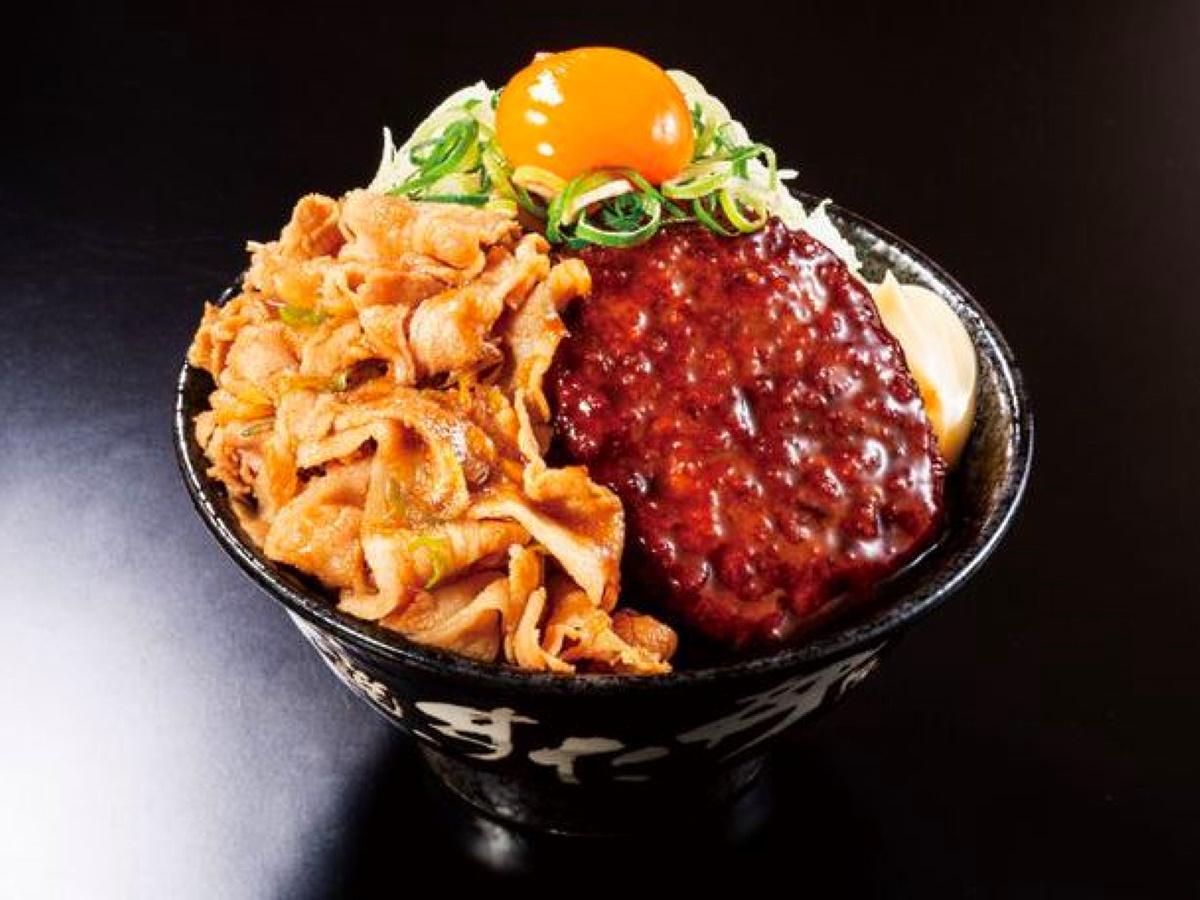 「パワフルバーグ合盛りすた丼」(920円)
