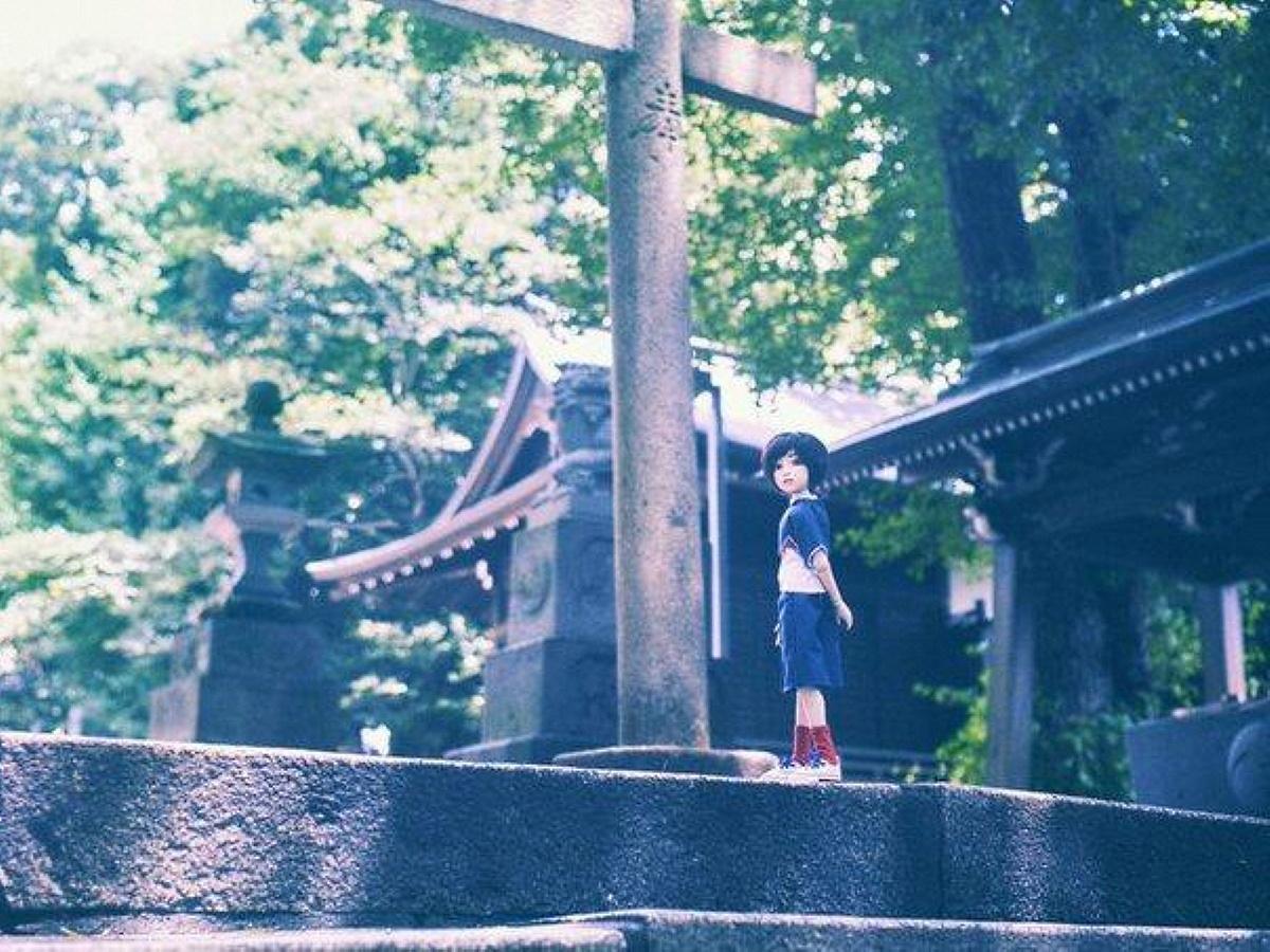 専属カメラマンルートの中野氷川神社と「ナカノさん」