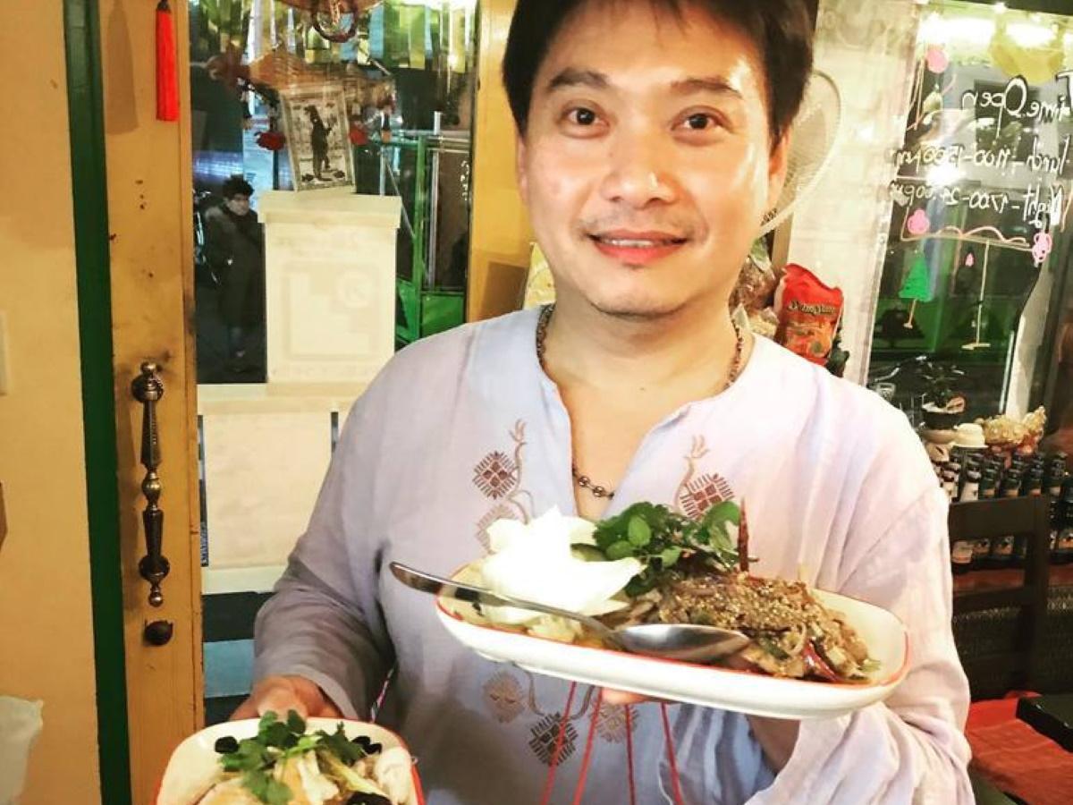 「タイ国居酒屋 トンホム」店主のドムさん
