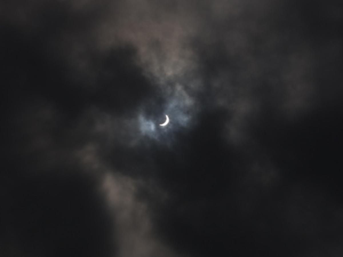 投影再開第一弾のテーマは「日食」